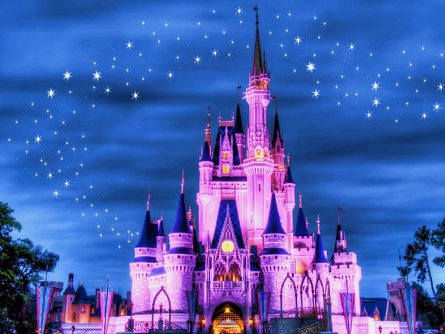 Disney's Magic Kingdom, một tòa lâu đài nguy nga như truyện cổ tích