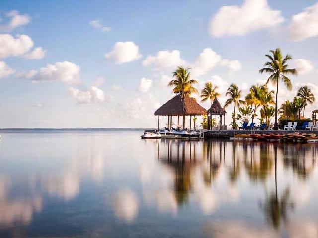 Một góc yên bình ở Key Largo