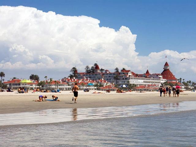 Coronado một trong những điểm đến thu hút du khách ở San Diego