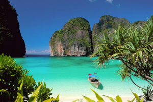 Biển Krabi điểm du lịch tuyệt vời