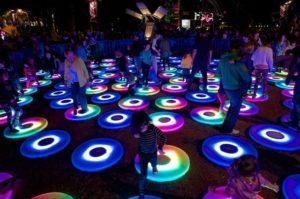 Lễ Vivid Light sử dụng hơn 1 triệu ngọn đèn LED