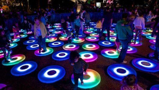 Rực rỡ lễ hội ánh sáng ở Sydney