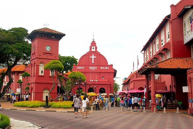 Malacca thành phố cổ nổi tiếng của đất nước Malaysia