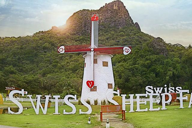 Swiss Sheep Farm khung trời như châu Âu