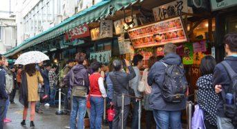 Chợ cá Tsukiji – địa chỉ ẩm thực cho người sành ăn ở Tokyo