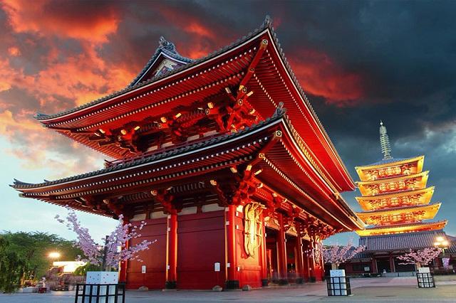 Ngôi chùa linh thiêng ở Nhật Bản