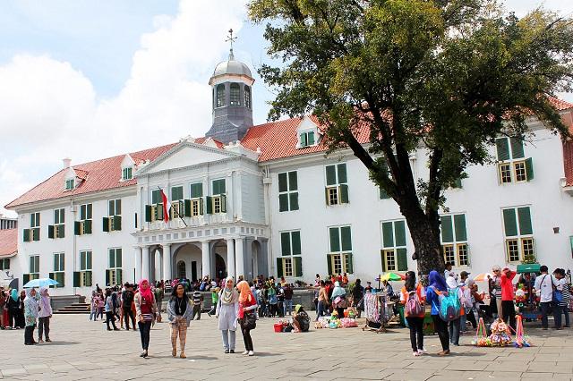 Thị trấn Kota Tua ở Jakarta