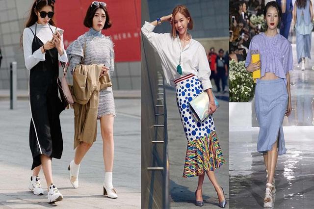 Thời trang Hàn luôn là xu thế toàn Châu Á