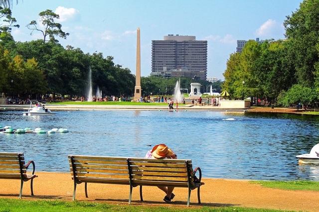 Vẻ đẹp thanh bình trong công viên Hermann