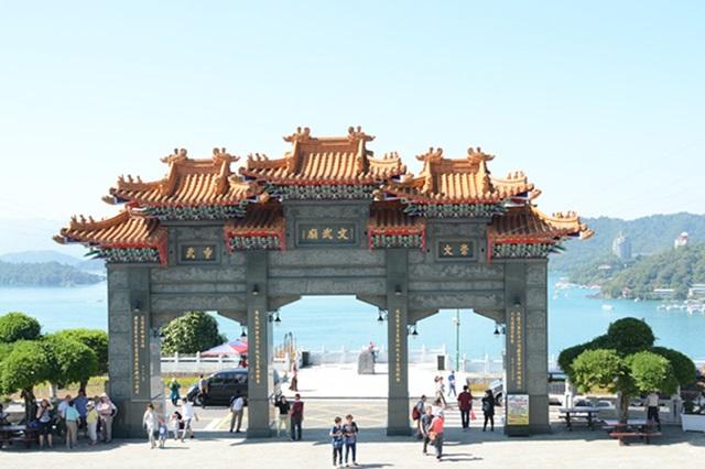 """Từ Hồng Môn chiêm ngưỡng """"tiên cảnh"""" ở Hồ Nhật Nguyệt"""