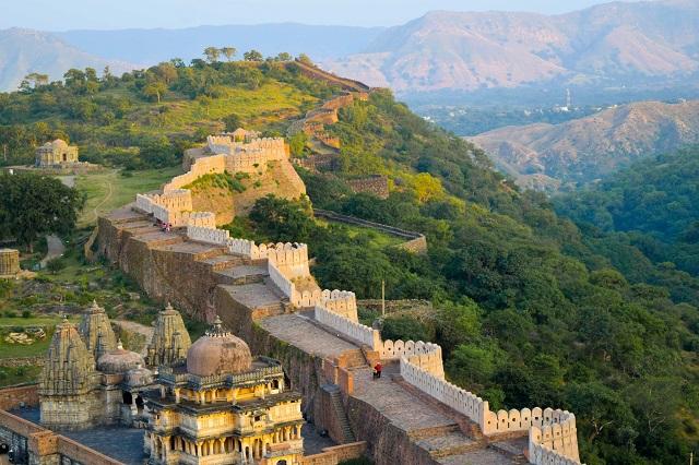 """Kumbhalgarh - """"Vạn Lý Trường Thành"""" thứ hai của thế giới"""
