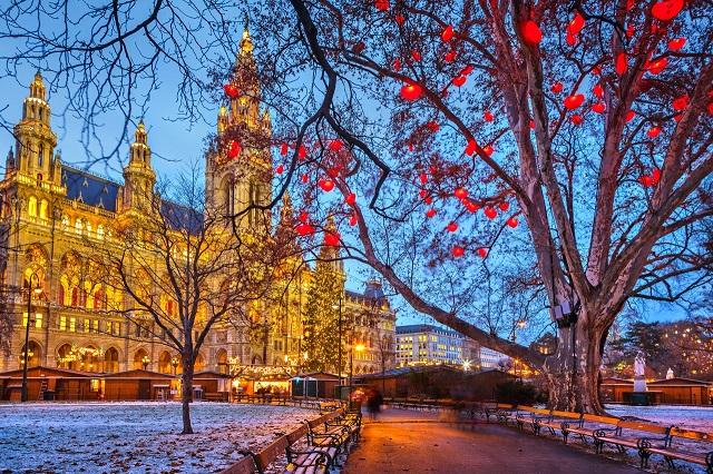 Vienna, thành phố của những cung điện và lâu đài