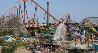 Six Flags Great America điểm vui chơi được yêu thích nhất ở Chicago