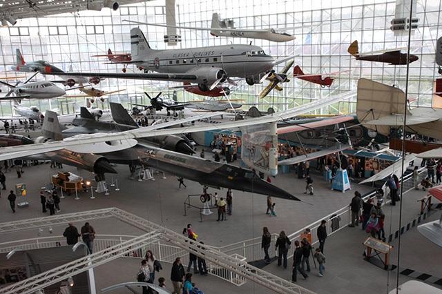 Khám phá bảo tàng hàng không nổi tiếng ở Seattle