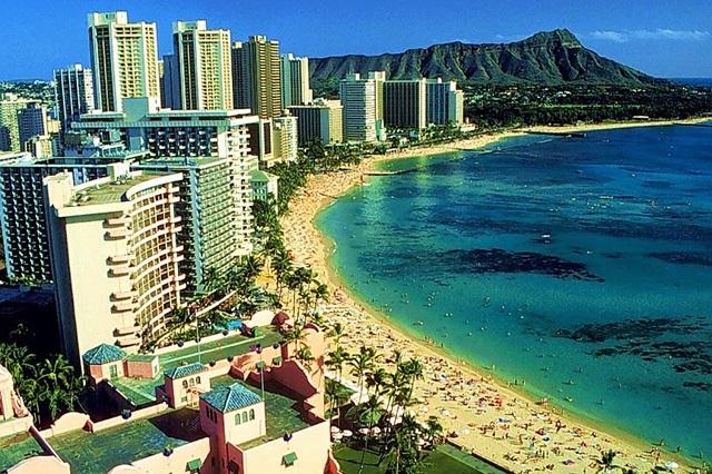 Honolulu – thiên đường nghỉ dưỡng