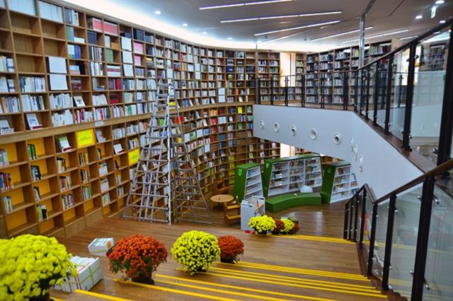 Không gian nghệ thuật của thư viện Thủ đô Seoul