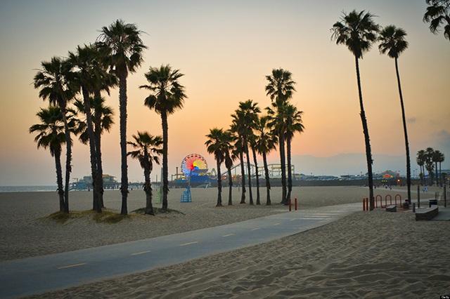 Santa Monica – điểm đến tuyệt vời để ngắm cảnh và nghỉ dưỡng
