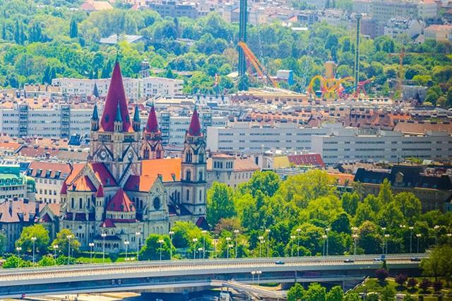 Vienna – thủ đô xinh đẹp của Áo