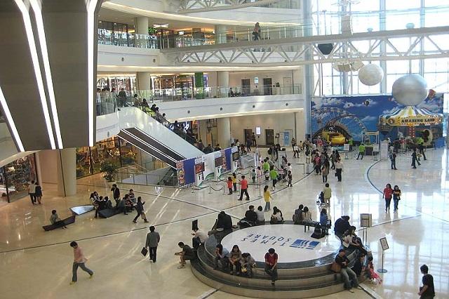 Time Square trung tâm mua sắm tốt nhất ở Seoul