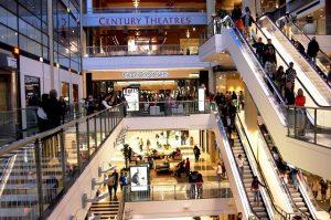 Không gian mua sắm sang trọng và hiện đại ở trung tâm Westfield San Francisco