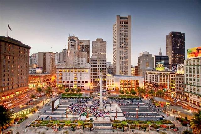 Ngoài mua sắm, Union Square Shopping còn được biết đến như một địa điểm du lịch nổi tiếng ở San Francisco