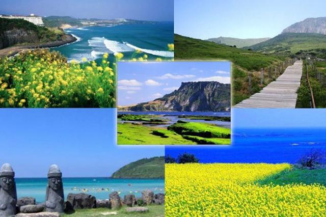 Jeju hòn đảo du lịch xinh đẹp của Hàn Quốc