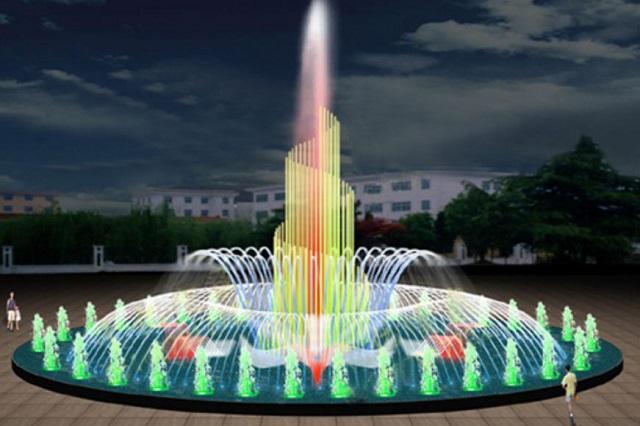 Đài phun nước – Vẻ đẹp lộng lẫy mang tính hiện đại