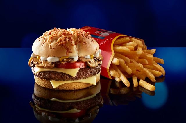 Hamburger là một trong những món ăn nổi tiếng McDonald's