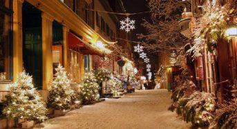 Những trải nghiệm tuyệt vời cho mùa Giáng sinh Canada