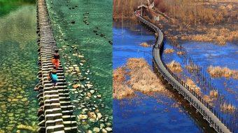 """Bật mí những cây cầu """"đẹp xuất sắc"""" ở Trung Quốc"""
